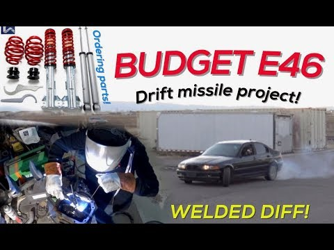 BUDGET E46 BMW DRIFT MISSILE PROJECT IS A GO!