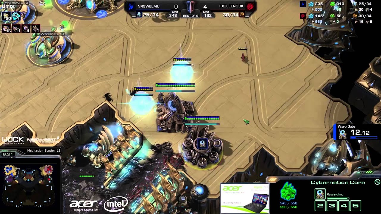 Leenock vs. Welmu (ATC) - FlashWolves vs. NrS - Game 5 - StarCraft 2