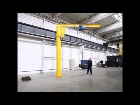 Кран консольный ККМ7 гп 1,0 т вылет консоли 4,0 м, высота подъема 4,0 м