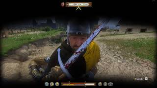Kingdom Come Deliverance is too easy after mid game.