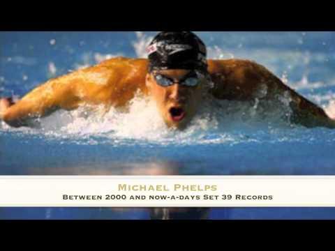Mark Spitz Versus Michael Phelps