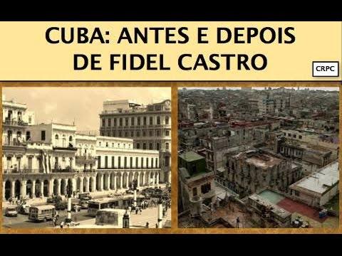 Cuba antes do comunismo e depois com o comunismo de Fidel Castro a destruição .Vai se surpreender