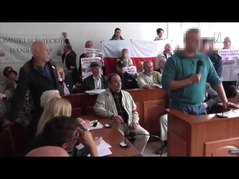 Oskarżeni o zakłócanie ciszy dziennej przed krakowskim sądem - Zygmunt Miernik