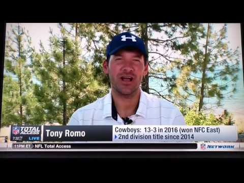 Tony Romo playing Lake Tahoe Golf Tournament