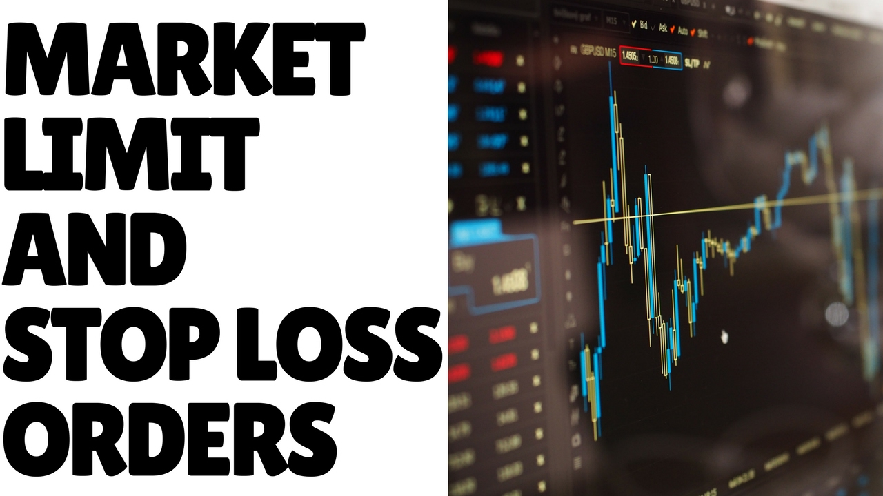 Lesson 06: Order Types - Market, Limit and Stop Loss Orders