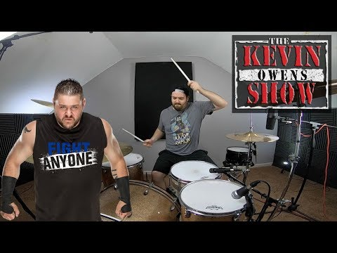 WWE Kevin Owens Theme Song FIGHT Drum Cover @FightOwensFight