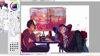 Max and Chloe[Life is Strange] Speedpaint by Takano