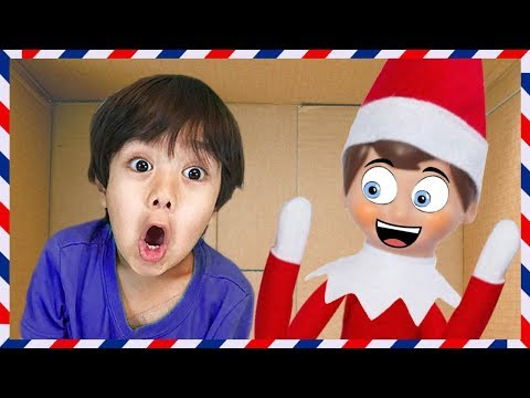 Thumbnail: I MAILED MYSELF to RYAN TOYS REVIEW and it WORKED!!! Elf on the Shelf