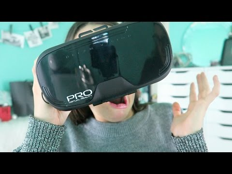 OMG! Trying Virtual Reality/VR Headset For First Time - Is It Worth It? | Fiona Frills