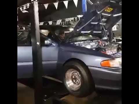 hyundai scoupe on dyno 500 hp