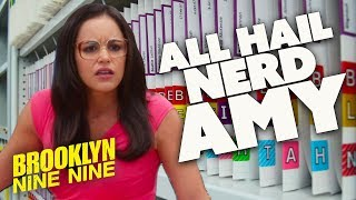 ALL HAIL NERD AMY | Brooklyn Nine-Nine | Comedy Bites