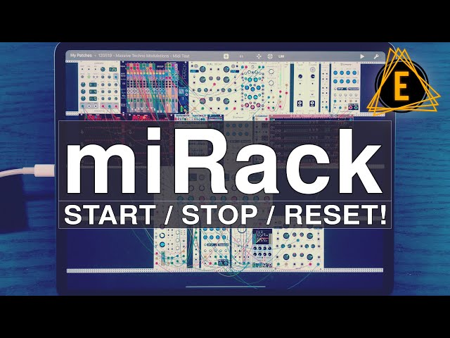 miRack - Start / Stop / Reset - Essential Tip!
