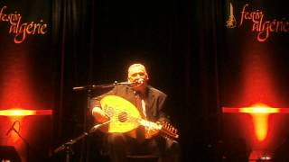 Cheikh Tahar El Hassar à la salle Ibn Zaydoune ;vidéo;Nis.Nab.Foufa