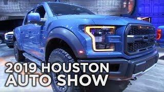 Dodge Ram, Ford 150 Raptor, Ford Ranger   2019 Houston Auto Show