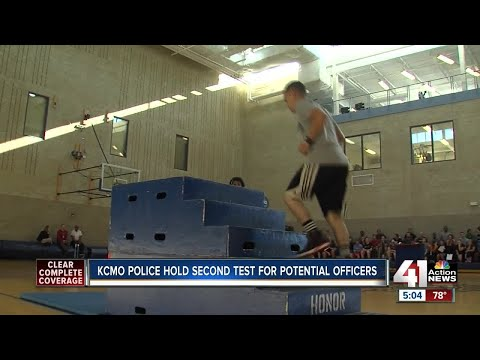 KCPD puts potential officers to the test