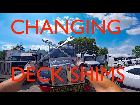 Changing Deck Shims: 2018 Fontaine 60 Ton RGN Float Trailer