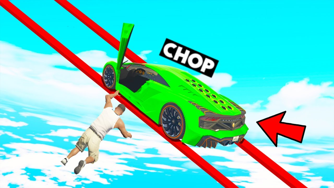 CHOP FELL OUT FROM HIS CAR IN THIS TROLL TIGHTROPE