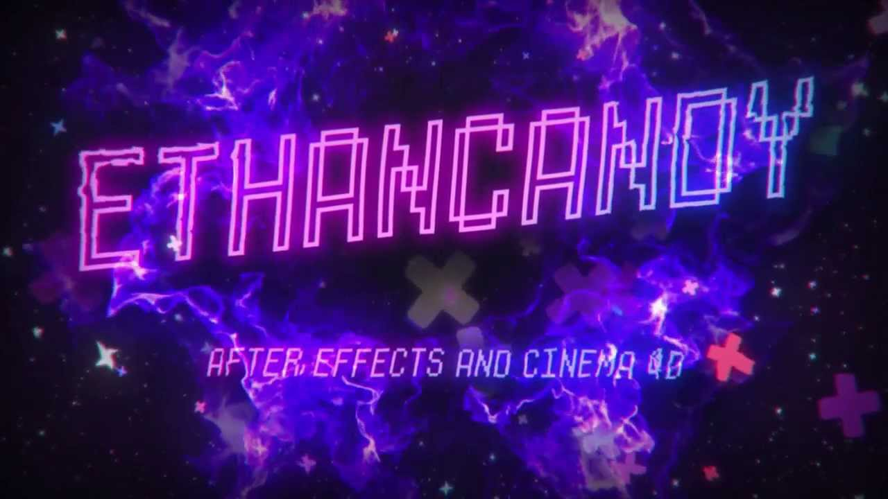 After Effects Retro/Neon Intro Template [FREE]