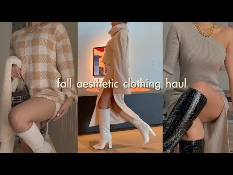 FALL TRY ON CLOTHING HAUL | shoes, accessories & more
