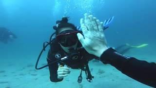 GETTING PADI ADVANCED OPEN WATER CERTIFICATION // Batangas Philippines
