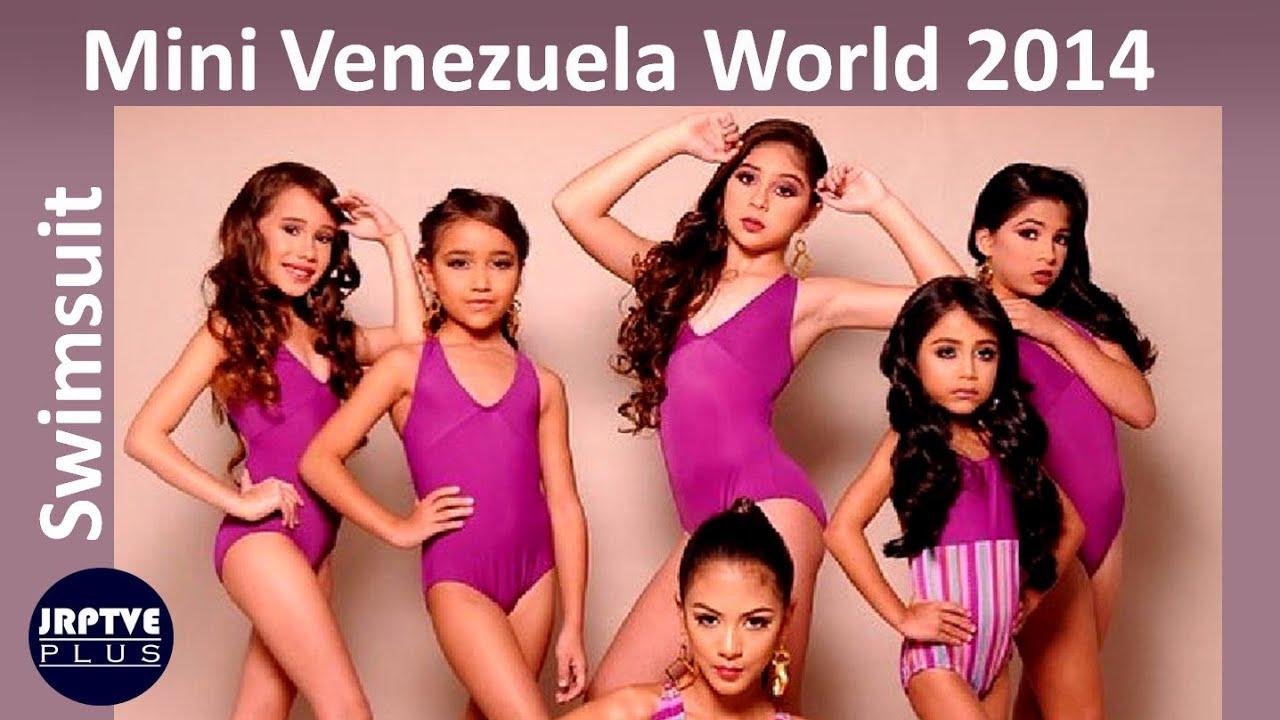 Mini Venezuela Mundo 2014   Traje de Baño La Gala de la Belleza   Parte 3