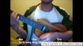 find out essential guitar plus Moi Anh Ve Tham Que Em with chords and lyrics