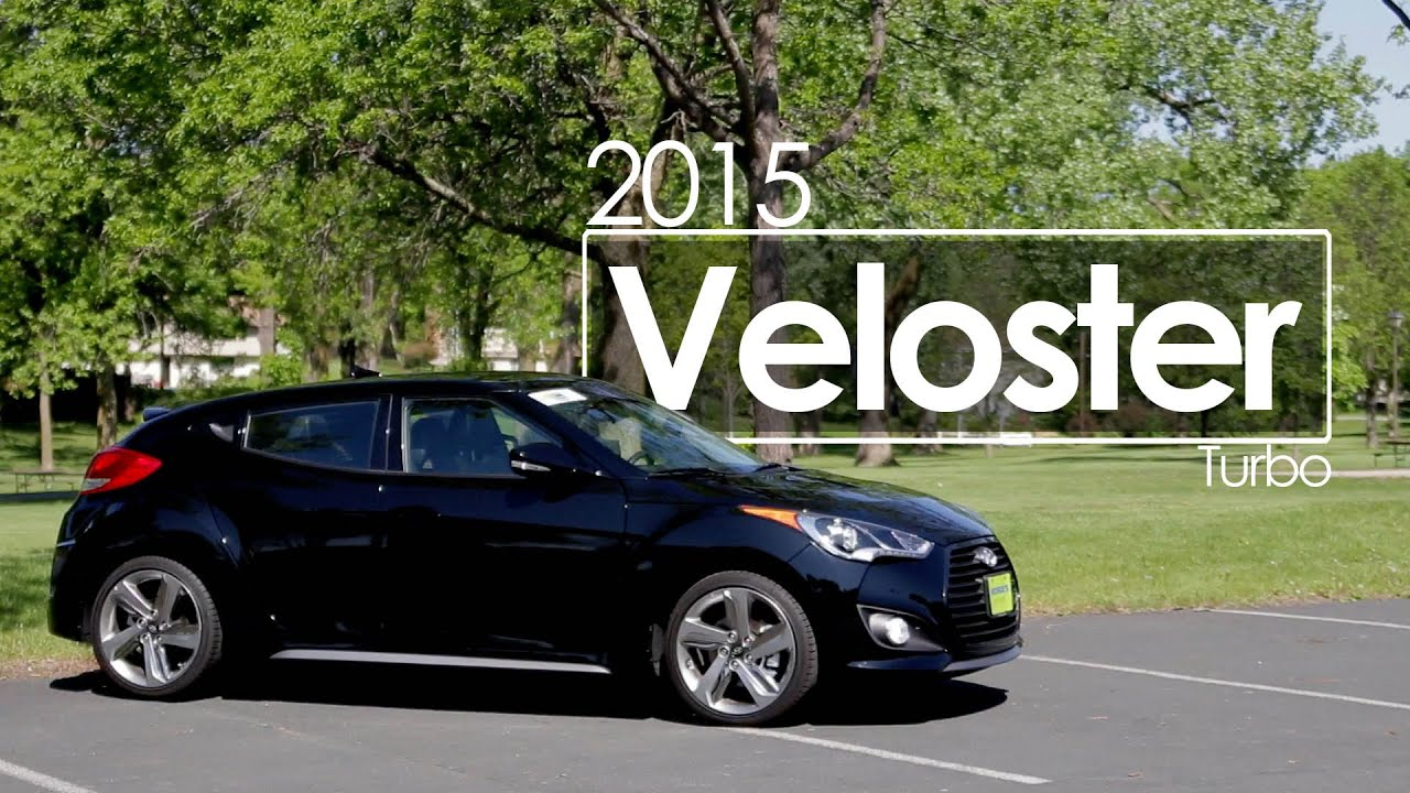 2015 Hyundai Veloster Turbo Review | Test Drive - YouTube