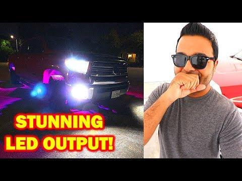 WIN POWER LED Headlights!!  REFLECTOR HOUSING Install!!