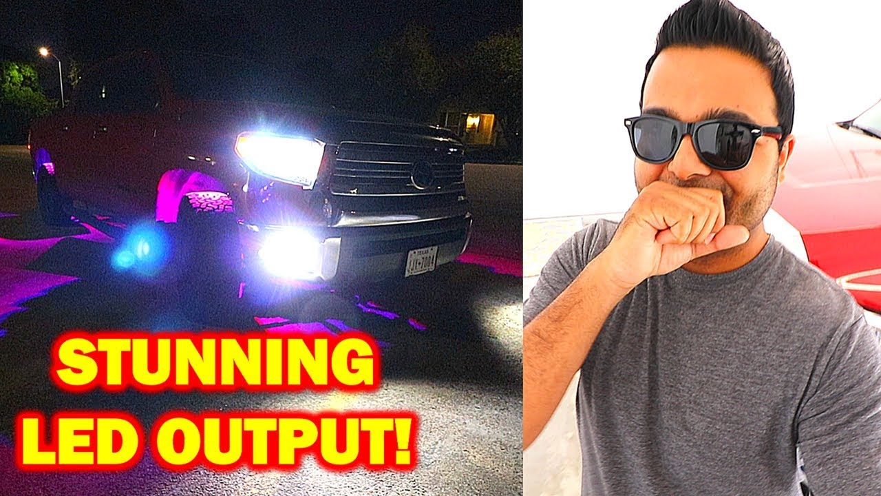 Win Power Led Headlights Reflector Housing Install Youtube