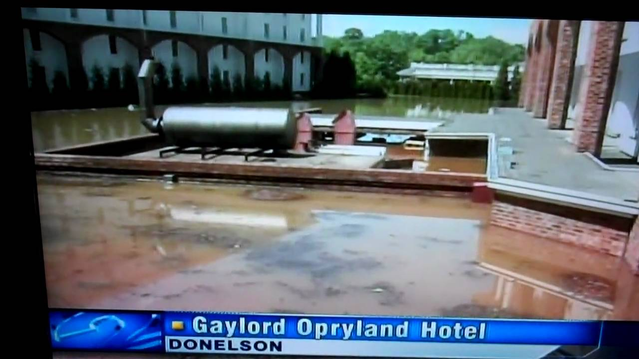 gaylord opryland flood in nashville 2010 youtube