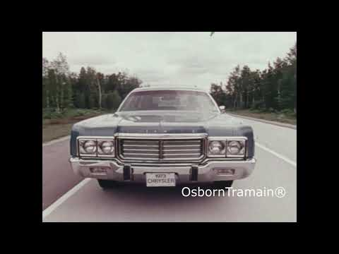 1973 Chrysler & Plymouth Station Wagon Commercial Film - Town & Country