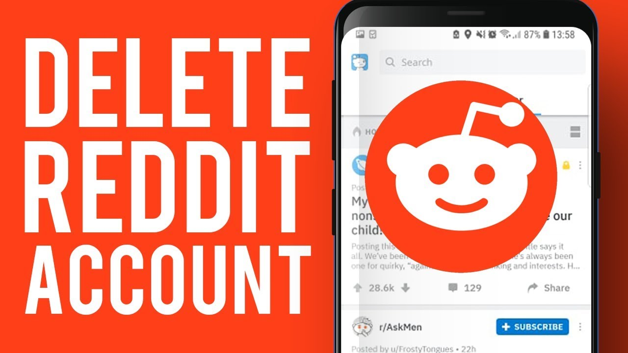 How To Delete Reddit Account on Mobile  Delete Reddit Account on Mobile  Easily!
