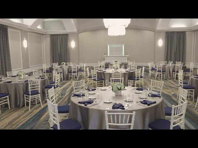 Rosen Centre Signature Room 1 Banquet Set