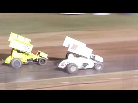 SSO 305 Sprints 10/1/2017 Lawton Speedway Lawton Oklahoma. - dirt track racing video image