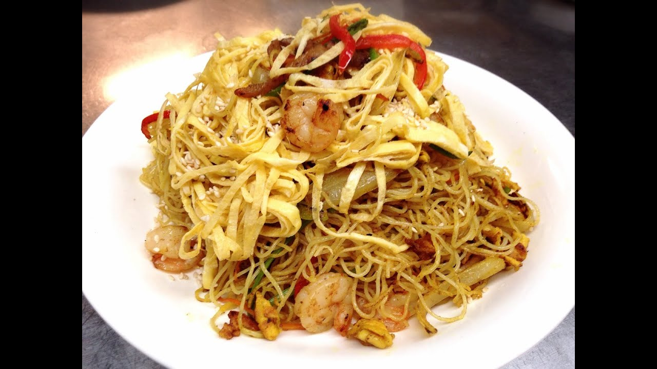 how to prepare egg noodles to add to stir fry