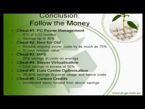 """Green IT """"cheats"""": Six simple proven self-funding solutions to a carbon neutral ICT operation"""