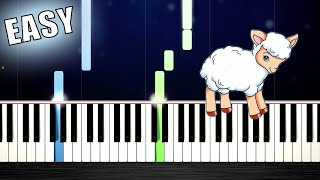 Mary Had A Little Lamb - EASY Piano Tutorial by PlutaX