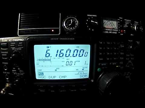 SWL: CKZN St. Johns 26 Nov '15 0800 UTC 6160 kHz AM
