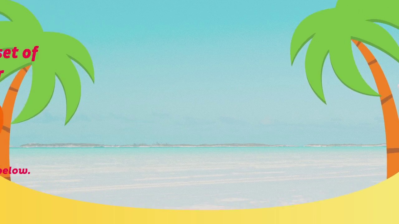 ImageFramer Summer frames pack - YouTube