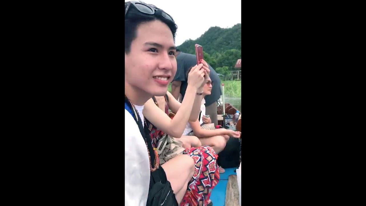 เที่ยวแพกาญจนบุรี ล่องแพส่วนตัวแบบชิวๆ ราคาหลักร้อยวิวหลักล้าน