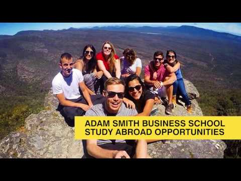Adam Smith Business School study abroad opportunities