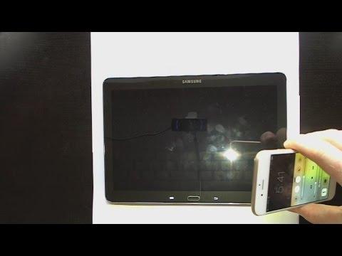 Samsung Galaxy Note 10.1 Dark Screen No Backlight FIX