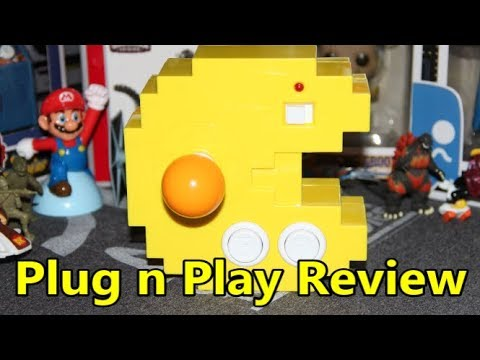 Pac-Man Connect And Play 35th Anniversary Plug N Play Review - The No Swear Gamer Ep 433