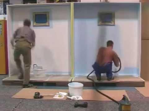 Pintura com rolo x pintura com pistola schulz 350w - Maquina para pintar paredes ...