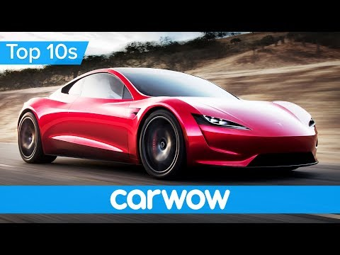Incredible New Tesla Roadster - it's faster than a Bugatti Chiron! | Top 10s