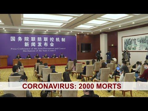 Coronavirus: 2000 morts, mais l'Afrique est toujours épargné - BBC Infos 19/02/2020