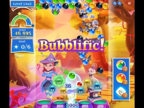 Bubble Witch Saga 2 Level 1642 - NO BOOSTERS