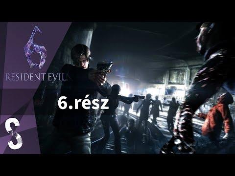 Resident Evil 6 végigjátszás magyar kommentárral 6.rész - Viharos utazás