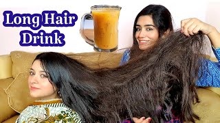 Fast Hair Growth Drink, Baal Lambe aur Ghane kernay ka &quotSecret&quot
