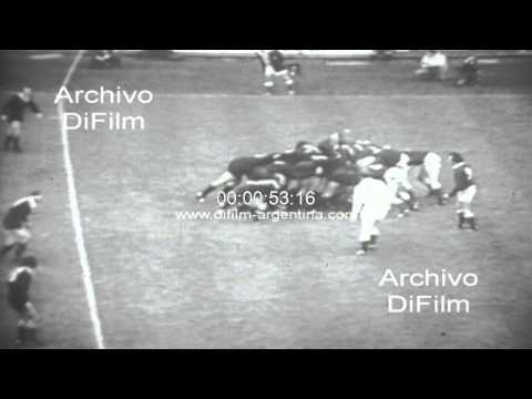 DiFilm - Wales vs New Zeland - Rugby International Match 1972